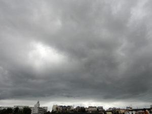 たれ込める暗雲