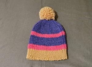 カラフルニット帽